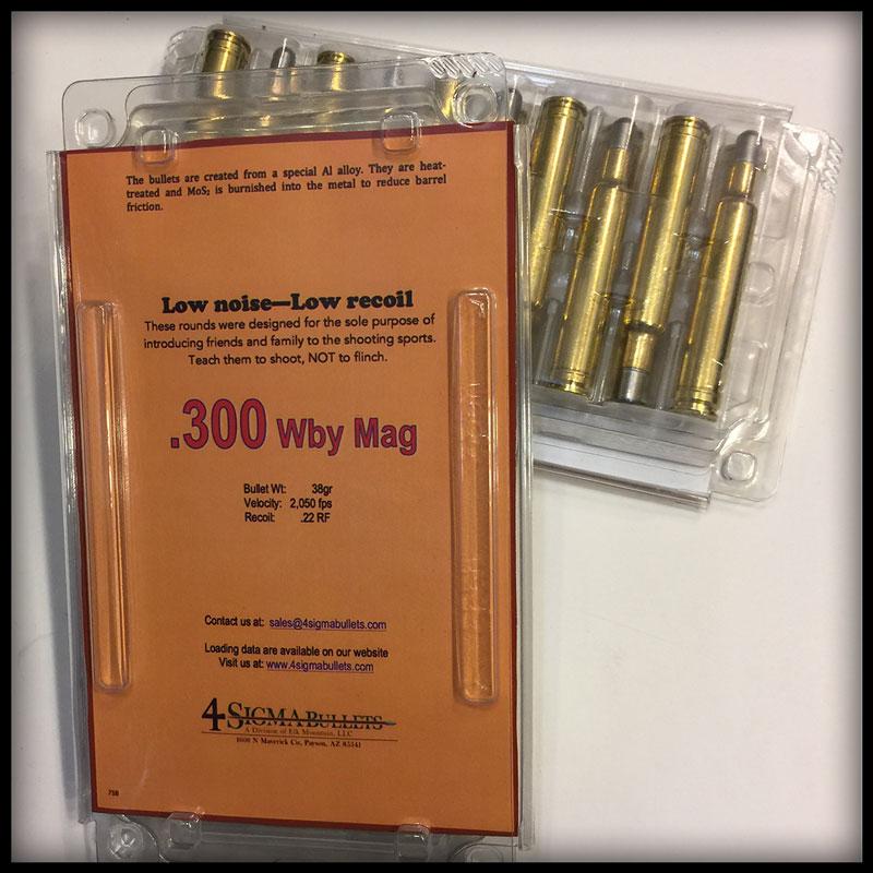 416 Rigby Ammo – 4-Sigma Bullets